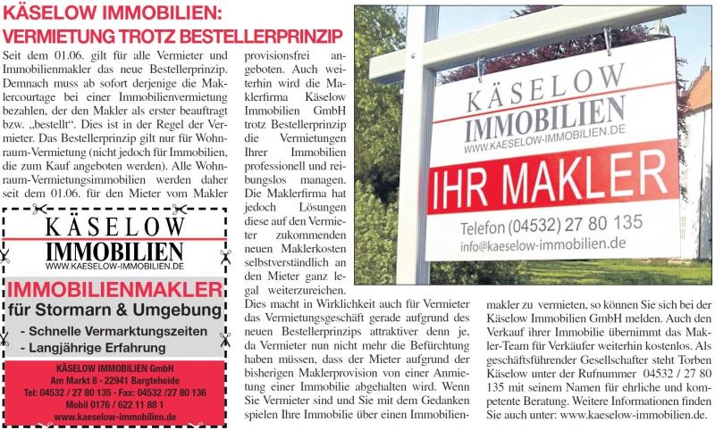 K selow immobilien vermietung trotz bestellerprinzip for Immobilienmakler vermietung